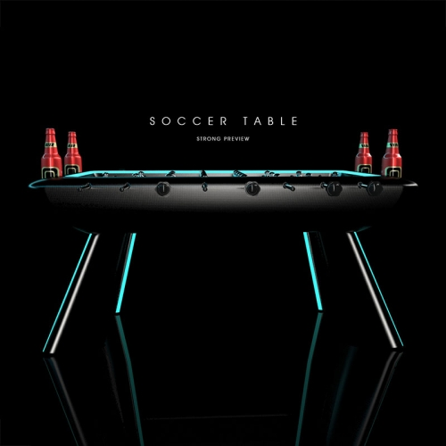 LED lighting standard soccer table